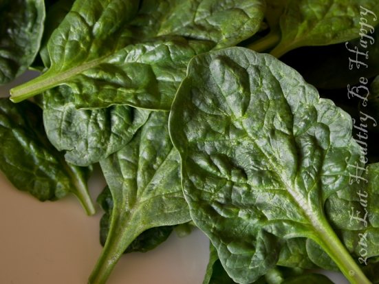 Oraganic Spinach Salad