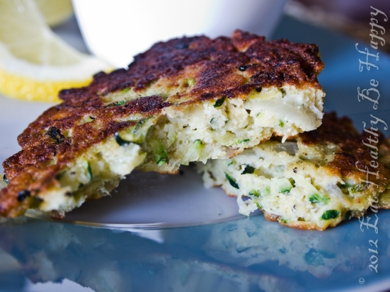 Zucchini Chickpea Fritters
