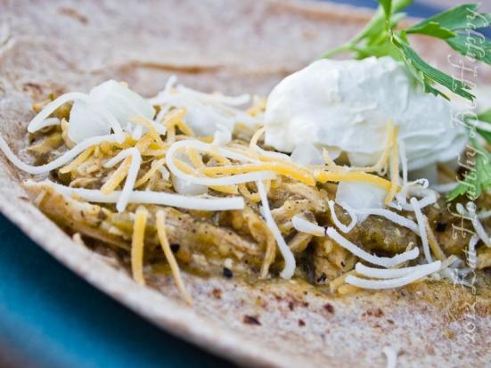 Chicken in Salsa Verde | Eat Healthy Be Happy