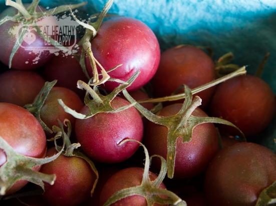 Heirloom grape tomatoes | Eat Healthy Be Happy