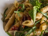 Roasted Tomato Pasta with White WineSauce