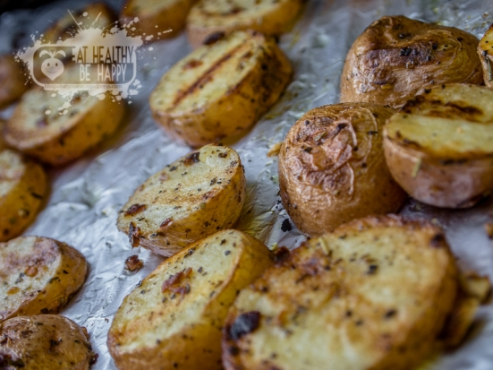 Grilled red potatoes | Eat Healthy Be Happy